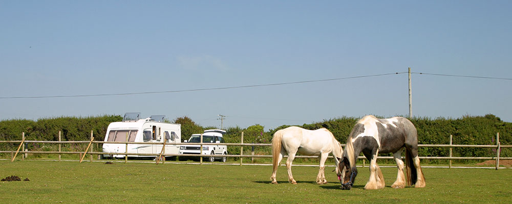 caravan touring park in cornwall
